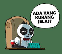 Wanara: Big Boss Panda sticker #9839303