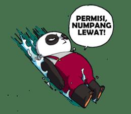 Wanara: Big Boss Panda sticker #9839304