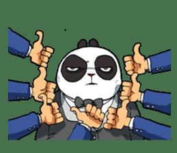 Wanara: Big Boss Panda sticker #9839306