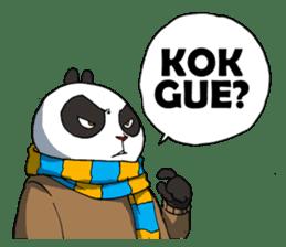 Wanara: Big Boss Panda sticker #9839307