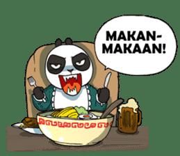 Wanara: Big Boss Panda sticker #9839308