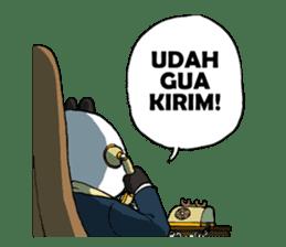Wanara: Big Boss Panda sticker #9839312