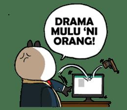 Wanara: Big Boss Panda sticker #9839314