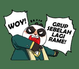 Wanara: Big Boss Panda sticker #9839327
