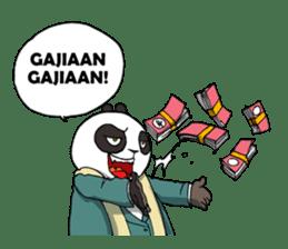 Wanara: Big Boss Panda sticker #9839333