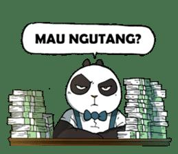Wanara: Big Boss Panda sticker #9839334