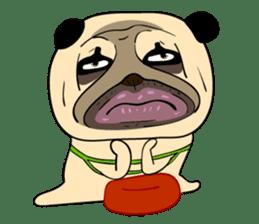 Mao Whatta Pug sticker #9840616