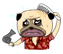 Mao Whatta Pug sticker #9840625