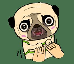 Mao Whatta Pug sticker #9840635