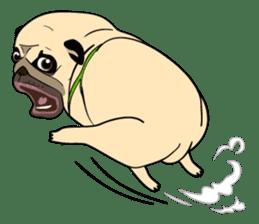 Mao Whatta Pug sticker #9840642