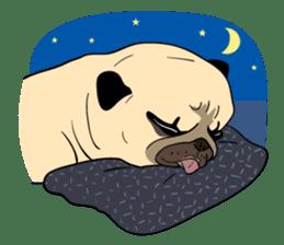 Mao Whatta Pug sticker #9840654