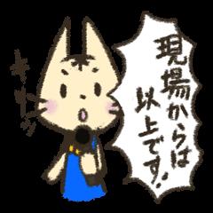 Announcer of cat