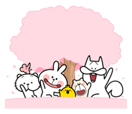"Spoiled Rabbit ""Spring"" sticker #9846620"