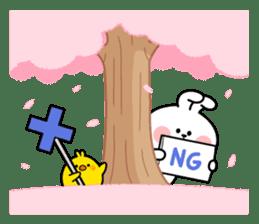 "Spoiled Rabbit ""Spring"" sticker #9846623"