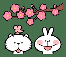 "Spoiled Rabbit ""Spring"" sticker #9846627"