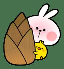 "Spoiled Rabbit ""Spring"" sticker #9846638"