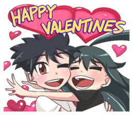 Jun Lemon (Be My Valentine) sticker #9851056