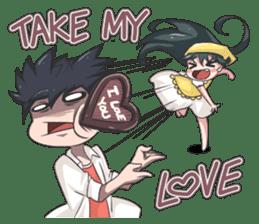 Jun Lemon (Be My Valentine) sticker #9851066