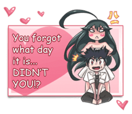 Jun Lemon (Be My Valentine) sticker #9851081