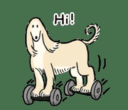 Afghan Hound, Saluki and Borzoi sticker #9852736