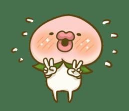 Feeling of peach 4 sticker #9861738