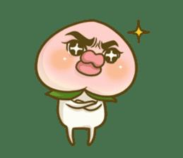 Feeling of peach 4 sticker #9861739