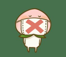 Feeling of peach 4 sticker #9861744