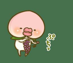 Feeling of peach 4 sticker #9861749