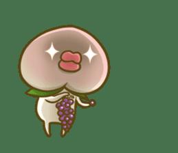 Feeling of peach 4 sticker #9861750