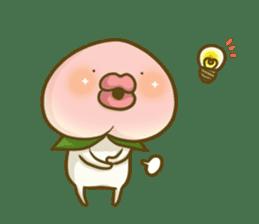 Feeling of peach 4 sticker #9861766