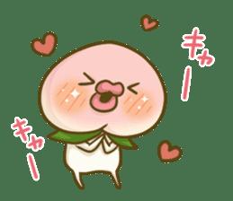 Feeling of peach 4 sticker #9861771