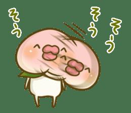 Feeling of peach 4 sticker #9861772
