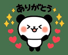 Panda attentive -Lovey-dovey feelings- sticker #9867377