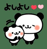 Panda attentive -Lovey-dovey feelings- sticker #9867384