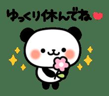 Panda attentive -Lovey-dovey feelings- sticker #9867387