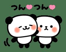 Panda attentive -Lovey-dovey feelings- sticker #9867388