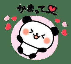 Panda attentive -Lovey-dovey feelings- sticker #9867391