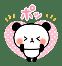 Panda attentive -Lovey-dovey feelings- sticker #9867393