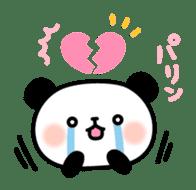 Panda attentive -Lovey-dovey feelings- sticker #9867396