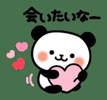 Panda attentive -Lovey-dovey feelings- sticker #9867399