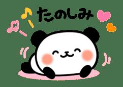 Panda attentive -Lovey-dovey feelings- sticker #9867401