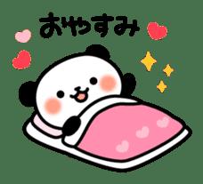 Panda attentive -Lovey-dovey feelings- sticker #9867402