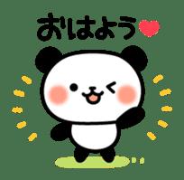 Panda attentive -Lovey-dovey feelings- sticker #9867403