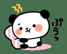 Panda attentive -Lovey-dovey feelings- sticker #9867408