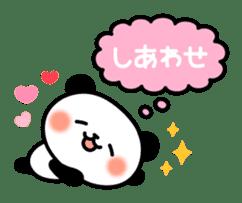 Panda attentive -Lovey-dovey feelings- sticker #9867413