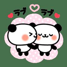 Panda attentive -Lovey-dovey feelings- sticker #9867414