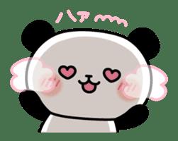 Panda attentive -Lovey-dovey feelings- sticker #9867415
