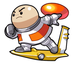 Opoona : The Boy from Planet Tizia sticker #9872761