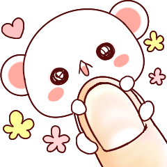 Fluffy Bear Shout the love!