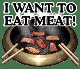 MEAT 3 ENGLISH sticker #9875552